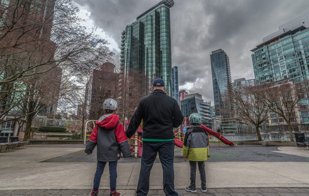 Vancouver in times of COVID-19: Playgrounds