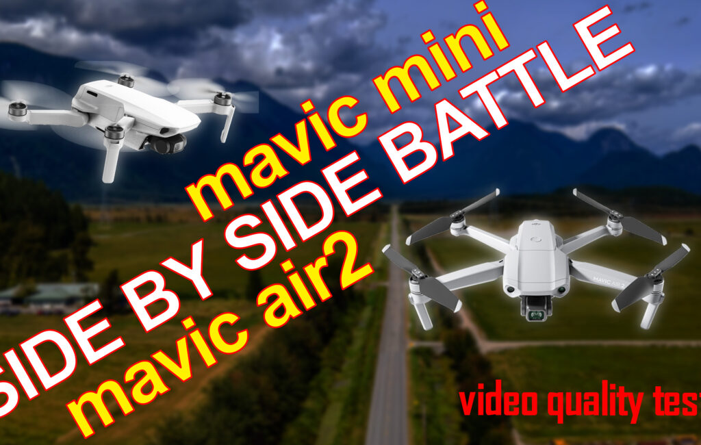 Drone v Drone (Air2 vs Mini)